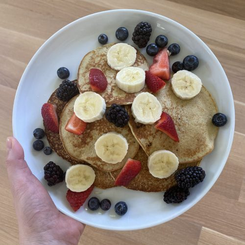 Get Naked Protein Pancakes