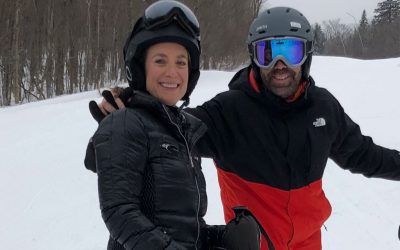 Learning how to ski at 40 is f'ing scary!