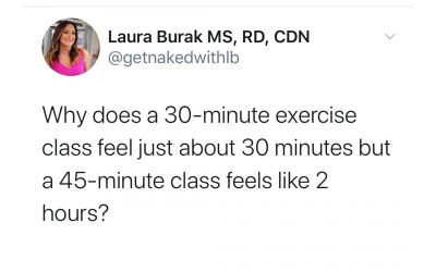 The Last Reason to Exercise is for Weight Loss